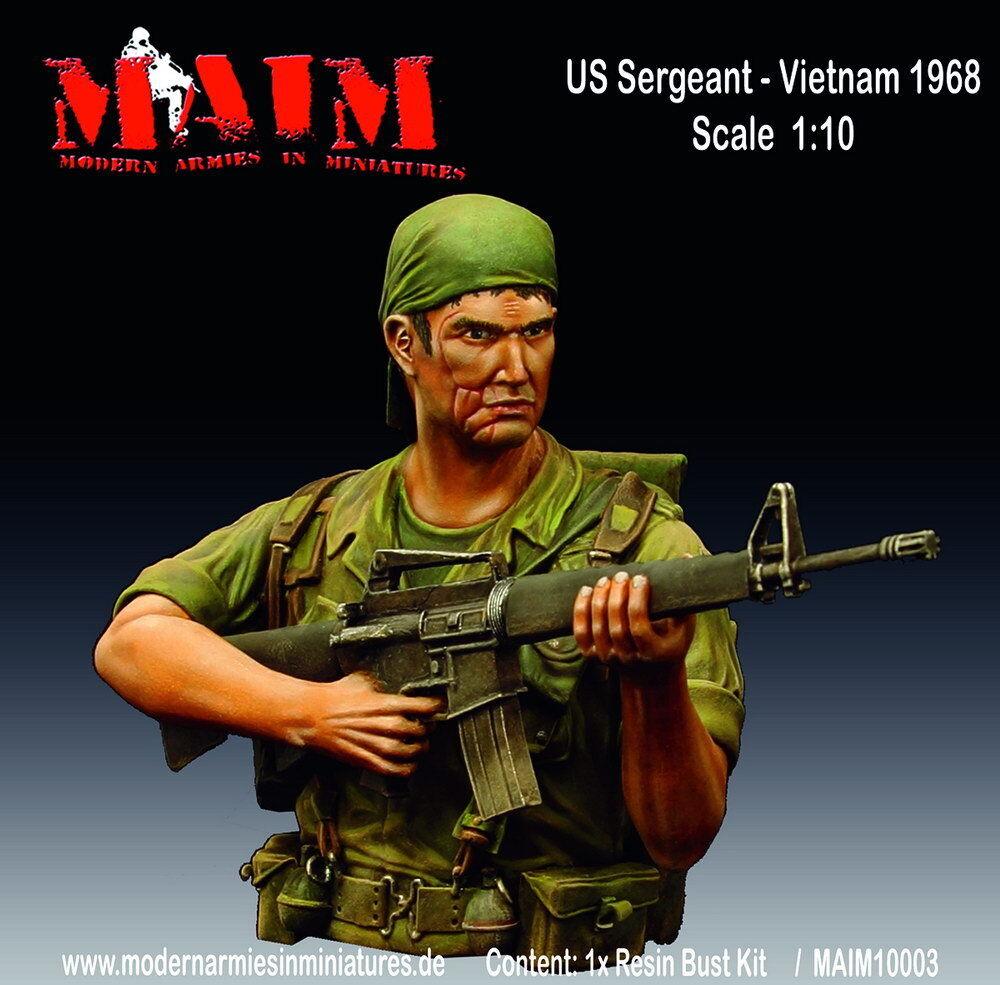 MAiM 1 10 US Sergeant, Vietnam 1968