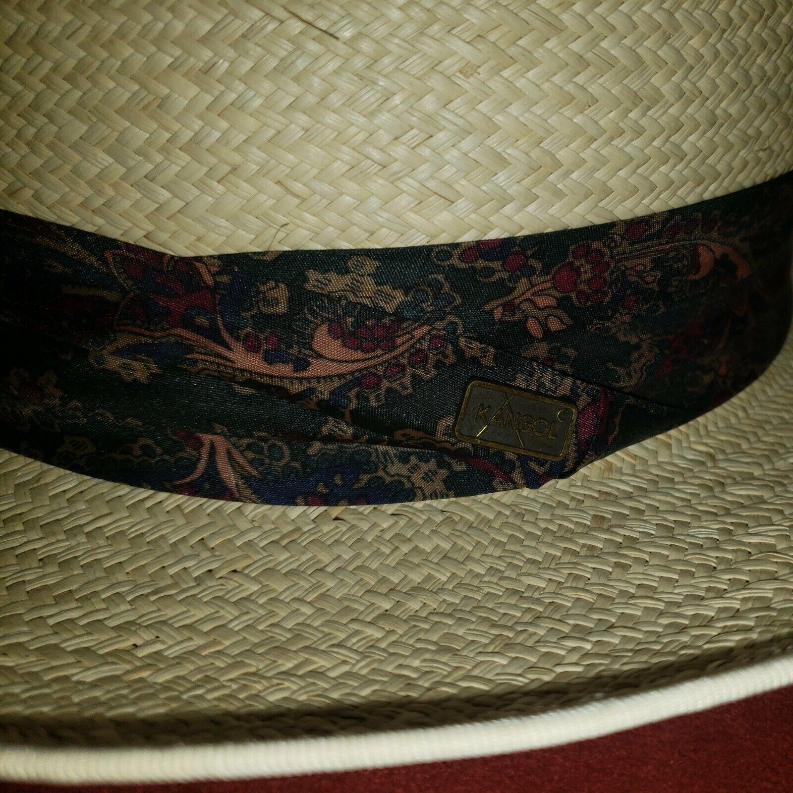 Vintage Kangol XL Straw Summer Hat - image 3