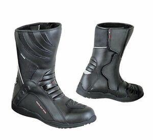 Stivali-Stivaletti-Moto-Scooter-Stradali-Impermiabili-3M-Alta-Visibilita-039-Rpro