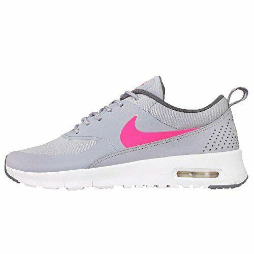 Nike Kid's Air Max Thea Gray/Pink/White