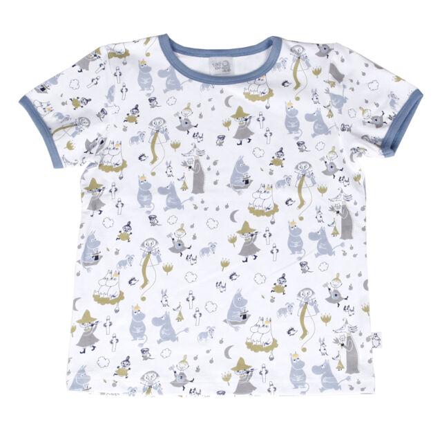 Moomin Tove 100 T-shirt Blue Martinex - Sizes: 92 cm - 128 cm