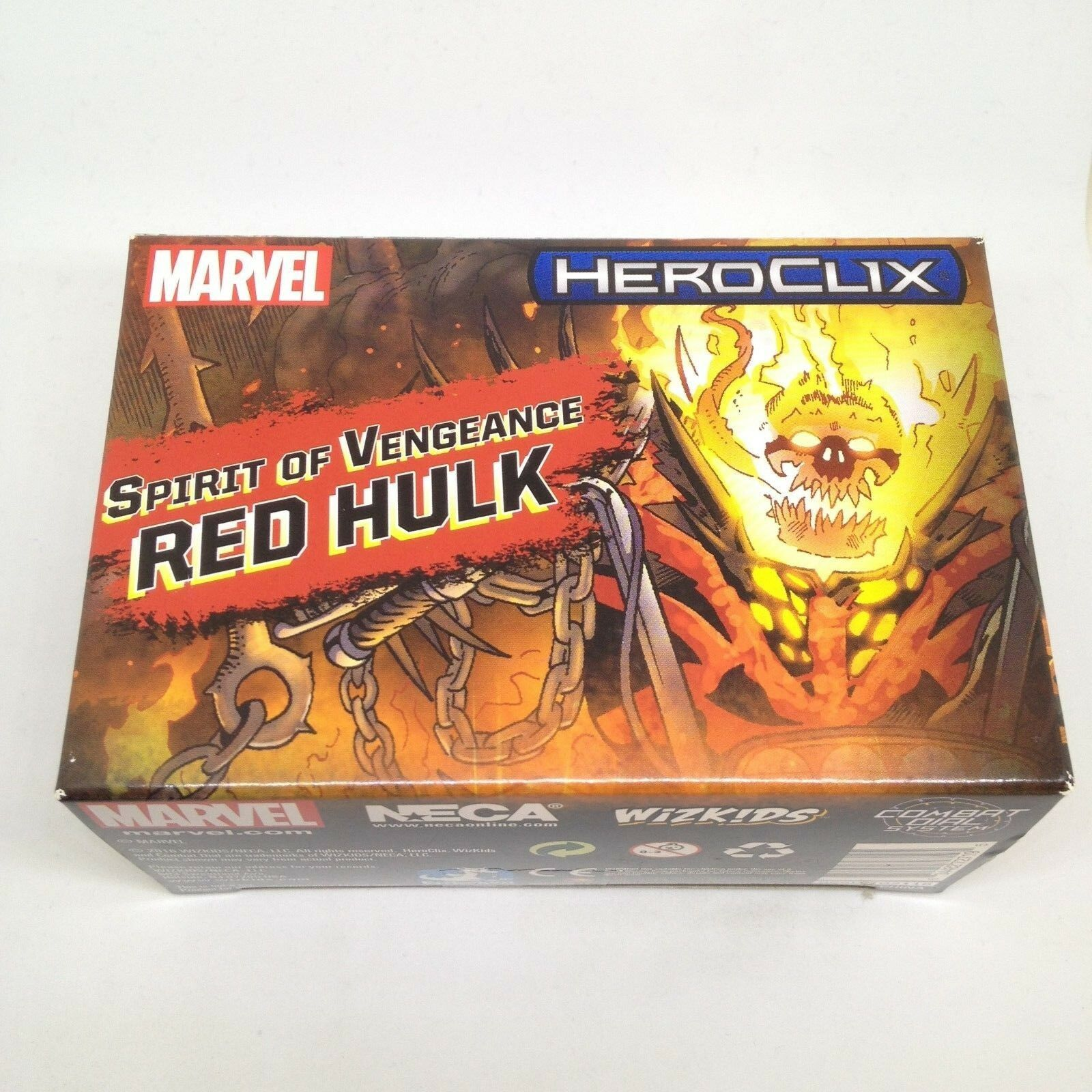 Heroclix 2017 Convention Exclusive Spirit of Vengeance Red-Hulk  MP17-002 w card