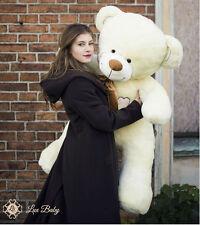 LUXBABY CHARLIE 160cm XXL Teddybär Riesen Stofftier Plüschtier Geschenk ECRU Neu