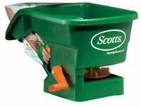 Lawn Feed Spreader Handheld Fertilizer Seed Light Scotts Garden Grass Care