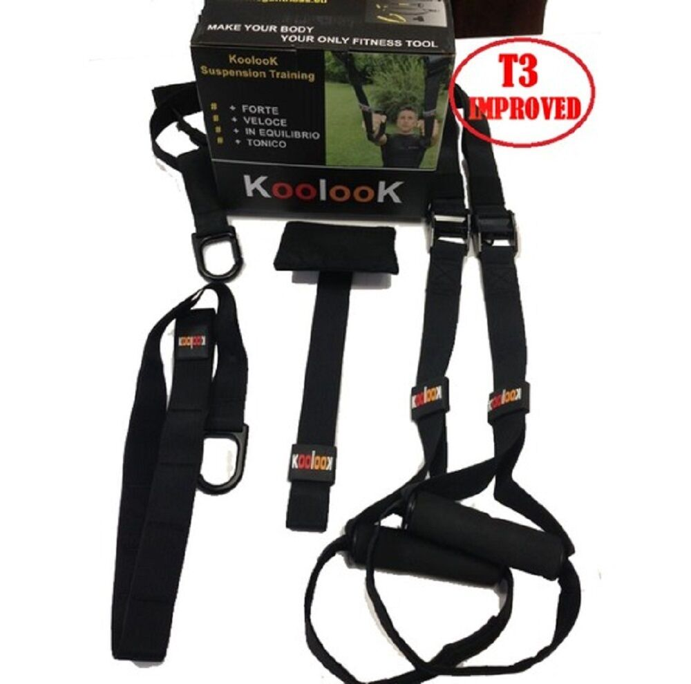BY KOOLOOK Suspension Trainer/ Schlingentrainer / SlingTraining T3 MODEL