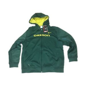 6ed863038528 NWT New Oregon Ducks Nike Men s KO Warp Full Zip Therma Fit Hoodie ...