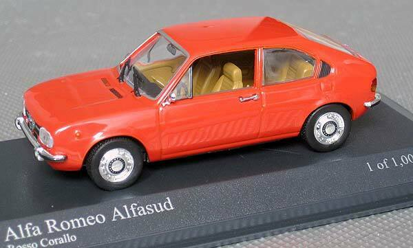 Alfa Romeo Alfasud Model Car 1 43