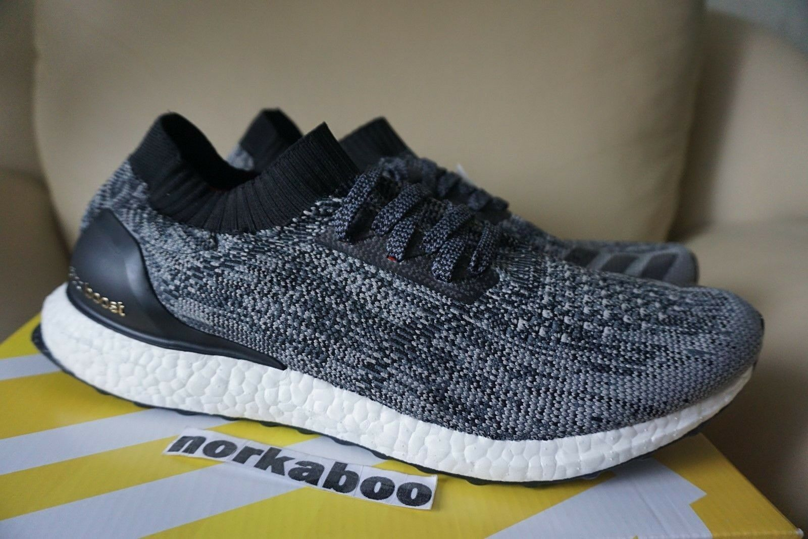 Adidas Ultra BB3900 Boost Uncaged Black White BB3900 Ultra no box 6880ce