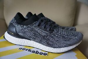 7315ceafd7fc1 Image is loading Adidas-Ultra-Boost-Uncaged-Black-White-BB3900-no-