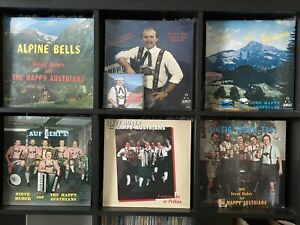 Steve-Huber-amp-The-Happy-Austrians-Lot-with-6-LP-Records-1-CD-All-NEW-POLKA