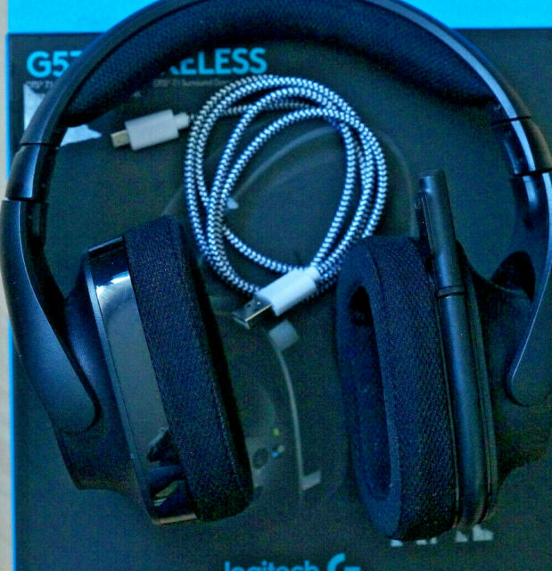 Logitech G533 Wireless Gaming Headset - Schwarz ohne Ladekabel
