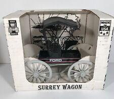 Ertl 1/16 Scale Die-Cast Surrey Wagon - Black Ford, In Box