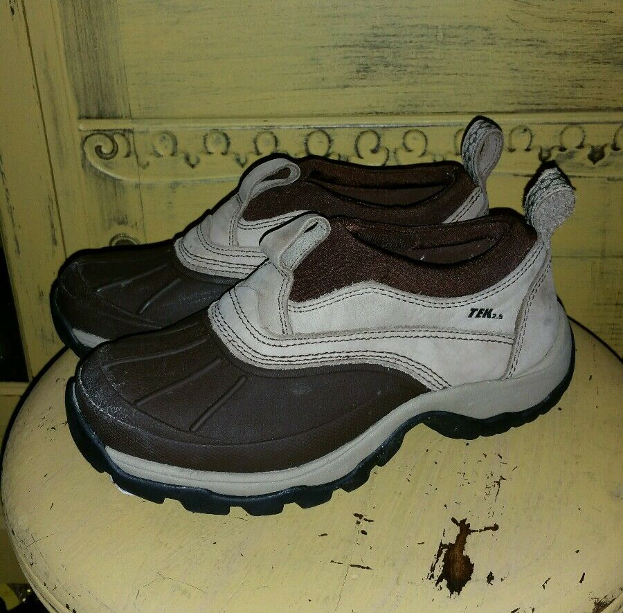 LL BEAN TEK 2.5 STORM CHASERS TAUPE & braun DUCK ANKLE Stiefel 6 M Stiefel HIKING