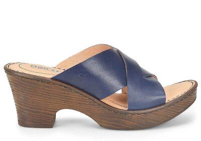 Women's Born Sandals Coney Navy Blue