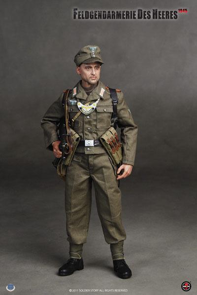Soldier Story 1 6 Scale 12  WWII German Feldgendarmerie Des Heeres Figure SS-054