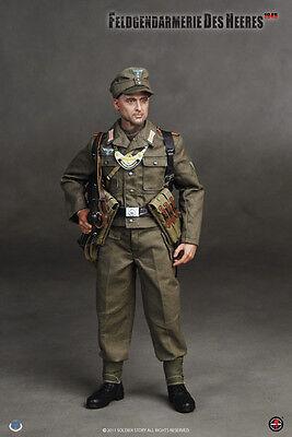Feldgendarmerie des Heeres-Nude Figure 1//6 Scale-Soldier Story Figure