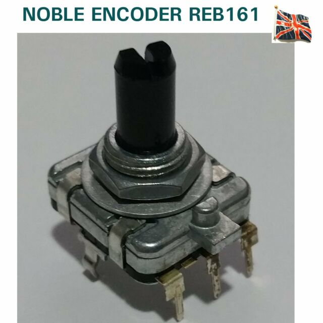 Not Indexed Broadcom Absolute Mechanical Rotary Encoder with a 6 mm Plain Shaft