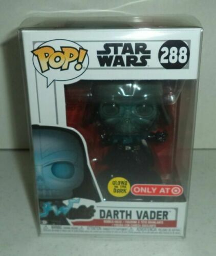 STAR WARS 288-FULMINATA Darth Vader GLOW IN THE DARK SPECIALE ED Funko Pop