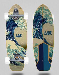 Lab surfskate complete Glutier T12 trucks Surf skate Gran ola 31