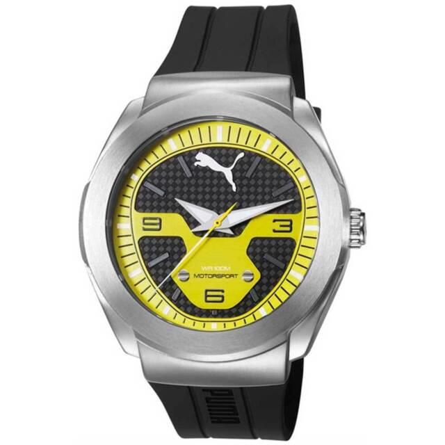 1f5261b42 Puma XL Hombre Reloj de Cuarzo Modelo Roadster Pu103931003 Resistente Al  Agua