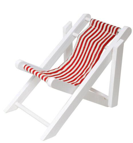Deko Miniatur Mini Liegestuhl für Geldgeschenke zur Dekoration zum Geburtstag