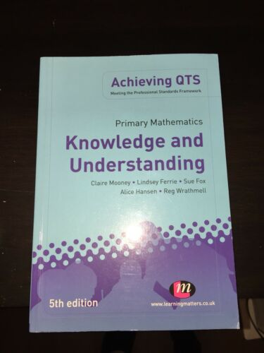 1 of 1 - Primary Mathematics Knowledge and Understanding 5th Edition