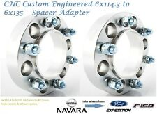 4WD Wheel Spacer Adapters 25 mm 6x114.3 to 6x135 Navara 66.1 mm 2PCS Hub Centric