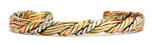 Sumerian Queen Sergio Lub Solid Copper Cuff Bracelet Non-Magnetic Medium 6-7in