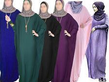 Viscose Butterfly Maxi Dress Abaya - Various Colors