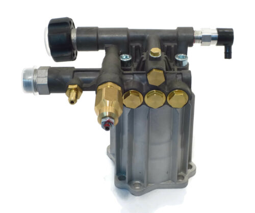 New 2800 PSI Pressure Washer Pump for Excell EXH2425 with Honda Engines w// Valve
