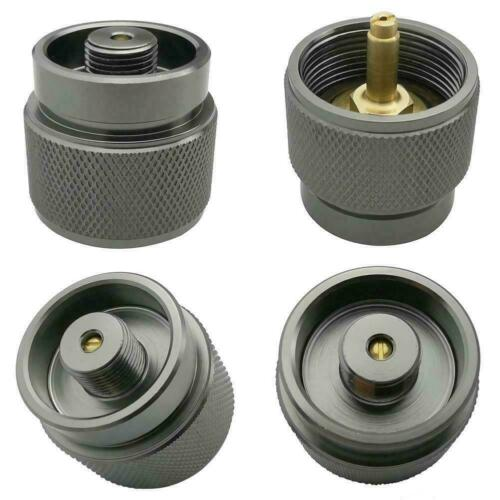 LPG Adapter Camping Stove Small Propane Tank Input Lindal Output ve Durable X6A1