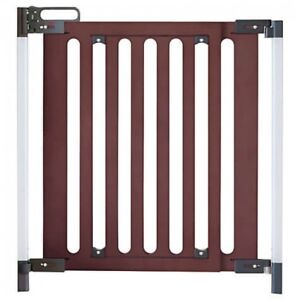 Retractable Baby Safety Gate Child Indoor Security Stair Guard Adjustable UK