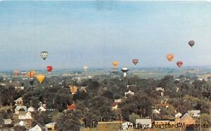 INDIANOLA-IA-1970-National-Hot-Air-Balloon-Race-Simpson-College-VINTAGE-IOWA