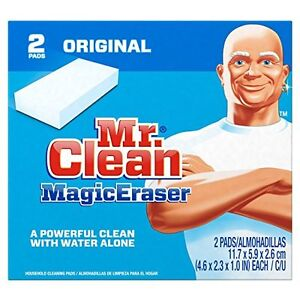 Mr Clean Erase and Renew Magic Eraser, Original, 2 Count