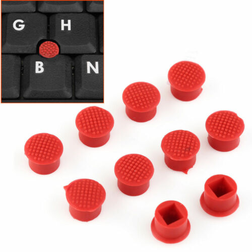 10 X Rubber Mouse Pointer TrackPoint Red Cap for IBM Thinkpad Laptop Nipple IJ