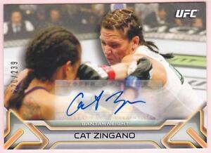 CAT-ZINGANO-2016-TOPPS-UFC-KNOCKOUT-AUTO-239-AUTOGRAPH