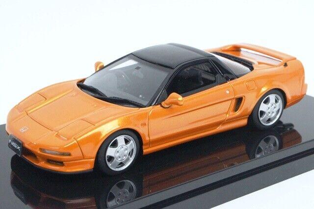 17B18-17 onemodel 1 43 Honda NSX-NA1 Imola Orange Pearl model cars