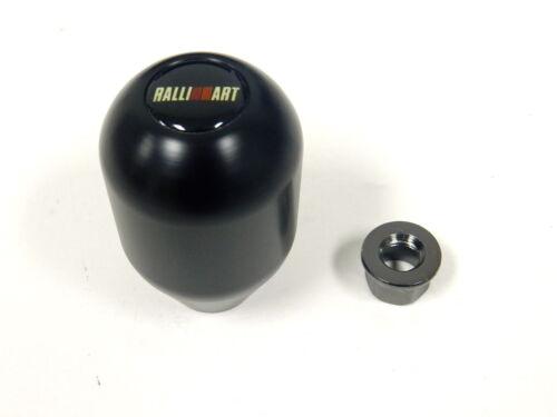 BLACK MITSUBISHI TEFLON LIGHT WEIGHT RACING SHIFT KNOB M10X1.25 RALLI