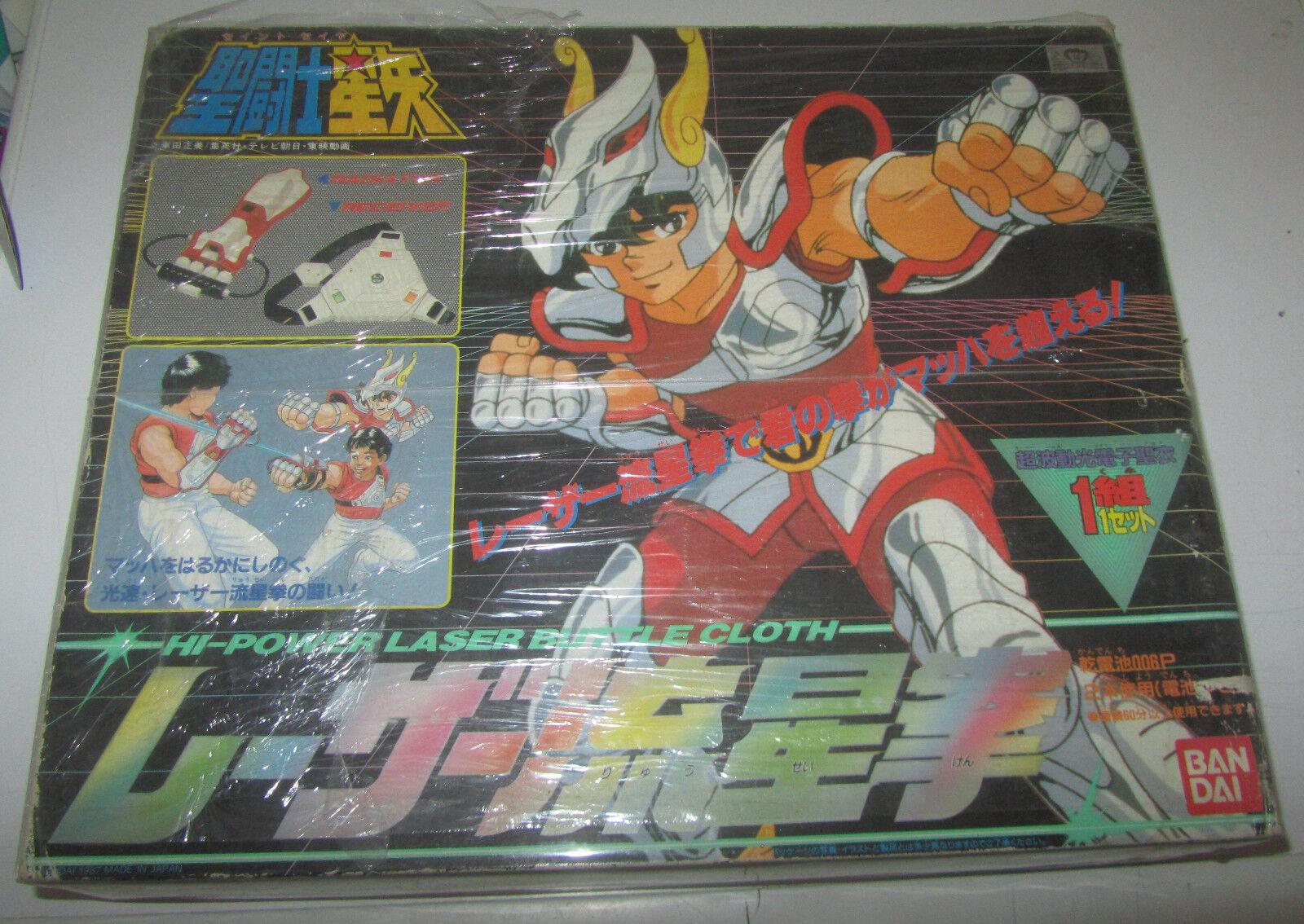 SAINT SEIYA Hi-Power Laser Battle Cloth Bandai Cavalieri dello Zodiaco
