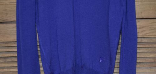 de en cuello 350 azul Sm lana Versace suéter con colección Nueva v PwUx0YEx