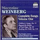 Mieczyslaw Weinberg - : Complete Songs, Vol. 1 (2008)