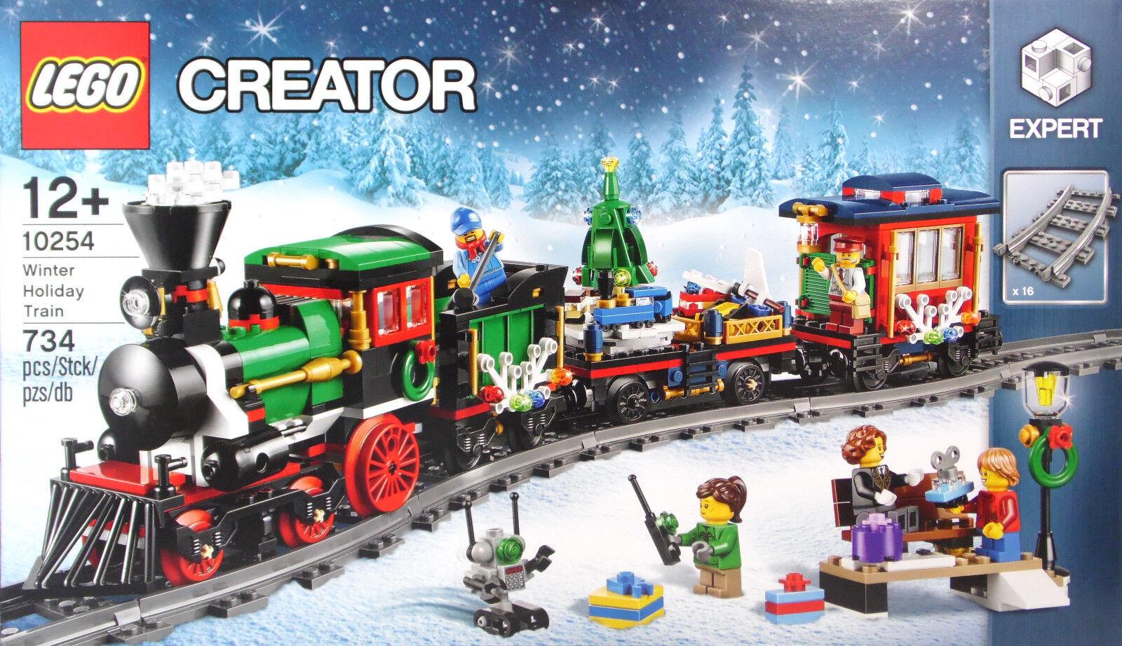 Lego Creator Expert 10254 Festif Weihnachtszug Winther HOLIDAY TRAIN Nouveau neuf dans sa boîte