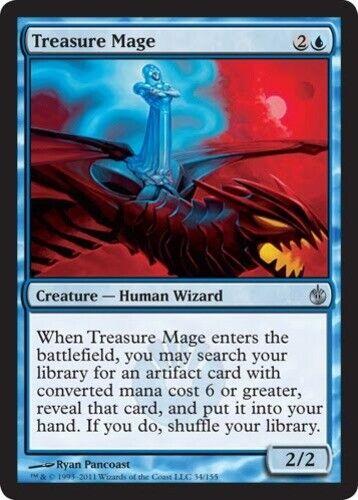 4 Treasure Mage ~ Near Mint Mirrodin Besieged 4x x4 Playset UltimateMTG Magic Bl