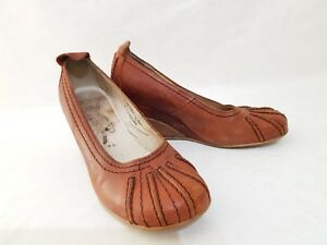FLY-LONDON-039-GIRL-039-WEDGE-SHOES-BROWN-SIZE-EUR-36-UK-3
