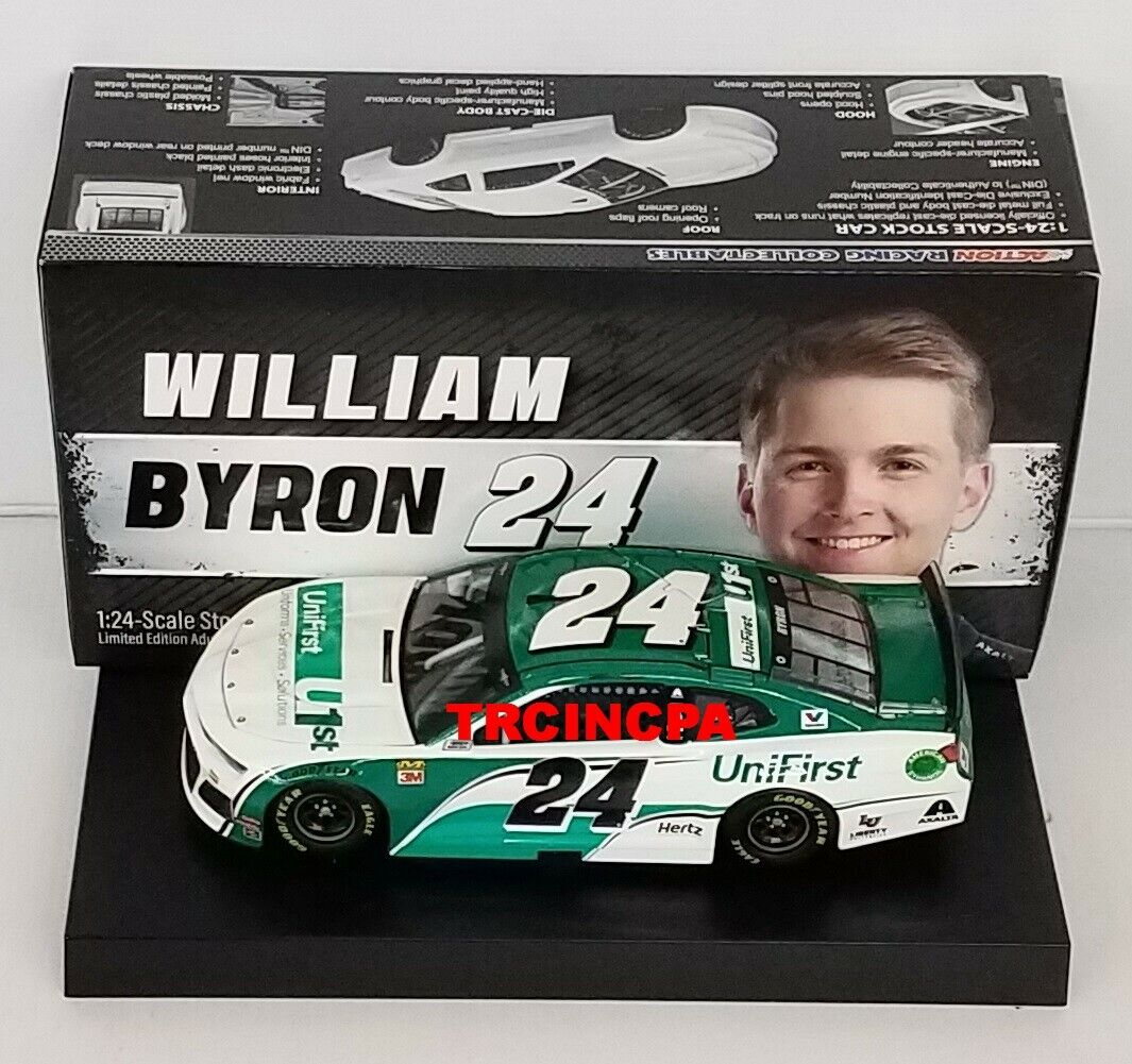 William Byron 2019 Lionel #24 Unifirst Chevy Camaro ZL1 1/24 FREE SHIP!