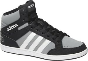 Image is loading New-Adidas-NEO-BOYS-GIRLS-TRAINERS-high-tops-