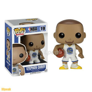 Stephen Curry Nba Star 19 Funko Pop Vinyl Figure Golden