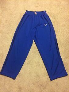 Vintage-Men-s-Nike-Team-Kansas-University-Blue-Tear-Away-Pants-XL-Basketball