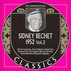 1952, Vol. 2 by Sidney Bechet (CD, May-2007, Classics)