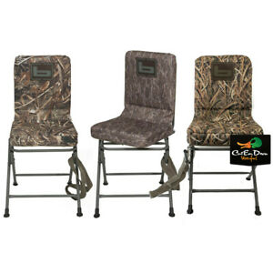 Super Details About New Banded Gear Swivel Blind Chair Duck Hunting Camo Pit Seat Stool Padded Theyellowbook Wood Chair Design Ideas Theyellowbookinfo